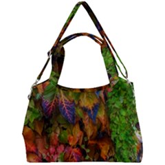 Fall Ivy Double Compartment Shoulder Bag by okhismakingart