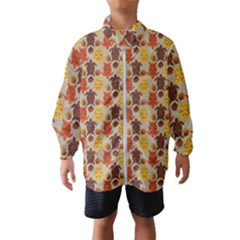 Sea Turtle Sea Life Pattern Kids  Windbreaker