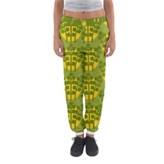 Texture Plant Herbs Green Women s Jogger Sweatpants by Mariart