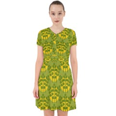 Texture Plant Herbs Green Adorable In Chiffon Dress by Mariart