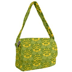 Texture Plant Herbs Green Courier Bag by Mariart