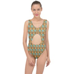 Owl Wallpaper Bird Center Cut Out Swimsuit