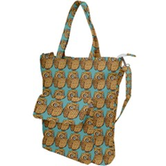 Owl Wallpaper Bird Shoulder Tote Bag