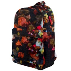 Leaves And Puddle Classic Backpack by okhismakingart