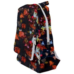 Leaves And Puddle Travelers  Backpack by okhismakingart