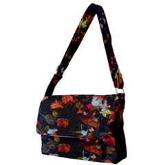 Leaves And Puddle Full Print Messenger Bag
