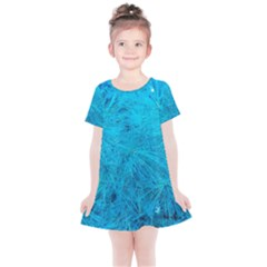 Turquoise Pine Kids  Simple Cotton Dress by okhismakingart