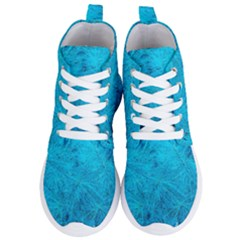 Turquoise Pine Women s Lightweight High Top Sneakers by okhismakingart