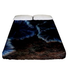 Tree Fungus Fitted Sheet (queen Size) by okhismakingart