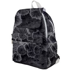 Tree Fungus Black And White Top Flap Backpack