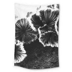 Tree Fungus High Contrast Large Tapestry by okhismakingart
