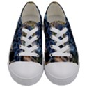 Tree Fungus Branch Kids  Low Top Canvas Sneakers View1