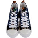 Tree Fungus Branch Women s Mid-Top Canvas Sneakers View1