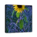 Blue Sunflower Mini Canvas 6  x 6  (Stretched) View1