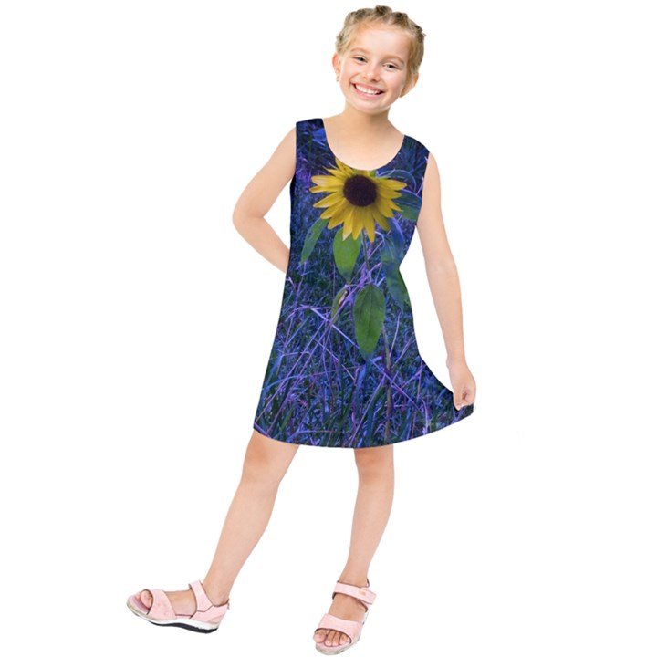 Blue Sunflower Kids  Tunic Dress