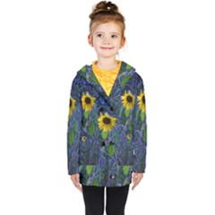 Blue Sunflower Coat
