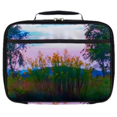 Field Of Goldenrod Full Print Lunch Bag