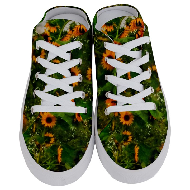 Sunflowers Half Slippers