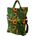 Sunflowers Fold Over Handle Tote Bag View2