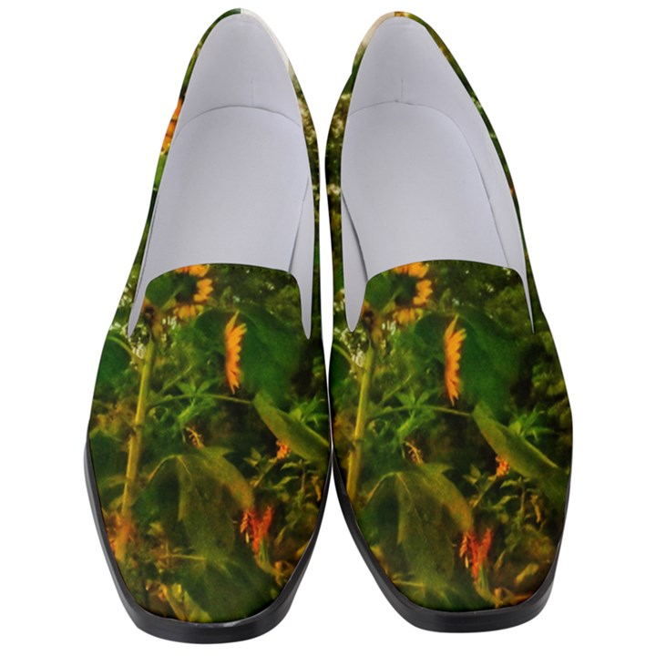 Sunflowers Women s Classic Loafer Heels