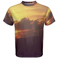 Early Sunset Men s Cotton Tee
