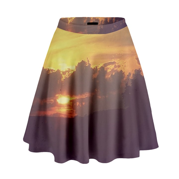 Early Sunset High Waist Skirt