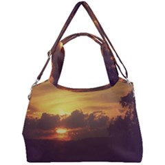 Early Sunset Double Compartment Shoulder Bag by okhismakingart