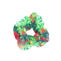 Intense Flowers Velvet Scrunchie by okhismakingart