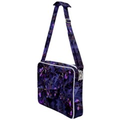 Purple Nettles Cross Body Office Bag by okhismakingart