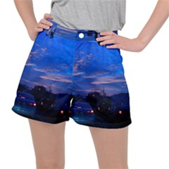 Blue Highway Stretch Ripstop Shorts by okhismakingart