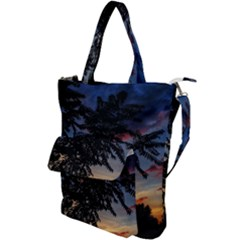 Sumac Sunset Shoulder Tote Bag