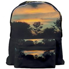 Pale Orange Sunset Giant Full Print Backpack