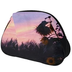 Sunflower Sunset Ii Full Print Accessory Pouch (big)