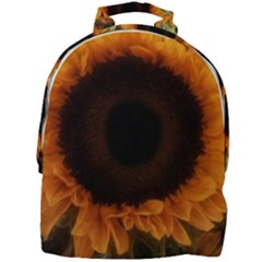 Single Sunflower Mini Full Print Backpack