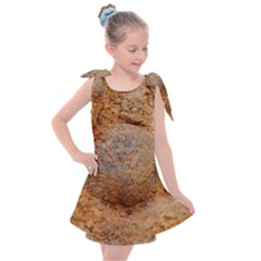Shell Fossil Ii Kids  Tie Up Tunic Dress