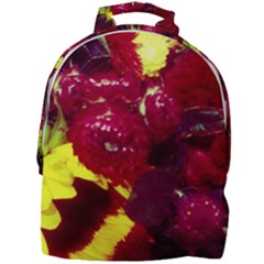 Sunflower And Cockscomb Mini Full Print Backpack