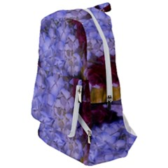 Hydrangea Arrangement Ii (blue Tint) Travelers  Backpack