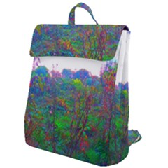 Neon Weeds Flap Top Backpack