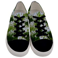 Green Closing Queen Annes Lace Men s Low Top Canvas Sneakers