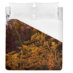 Goldenrod Version Ii Duvet Cover (queen Size)