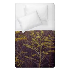 Purple And Yellow Goldenrod Duvet Cover (single Size)