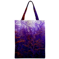 Yellow And Blue Goldenrod Zipper Classic Tote Bag