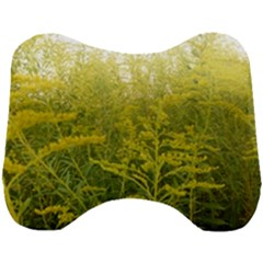 Yellow Goldenrod Head Support Cushion