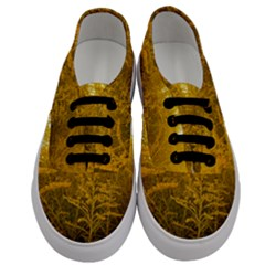 Gold Goldenrod Men s Classic Low Top Sneakers
