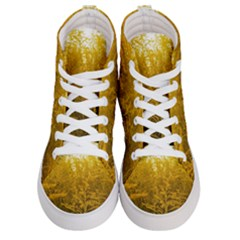 Gold Goldenrod Men s Hi Top Skate Sneakers