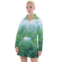 Turquoise Goldenrod Women s Hoodie Dress
