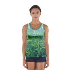 Turquoise Goldenrod Sport Tank Top