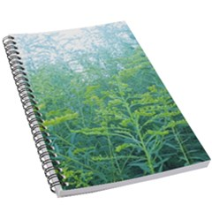 Turquoise Goldenrod 5 5  X 8 5  Notebook