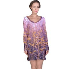 Pink Goldenrod Long Sleeve Nightdress