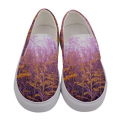 Pink Goldenrod Women s Canvas Slip Ons